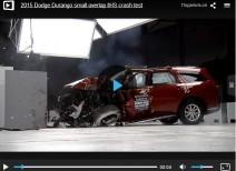 Краш-тест Dodge Durango small overlap (IIHS)