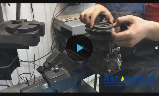 Ремонт своими руками компрессора кондиционера