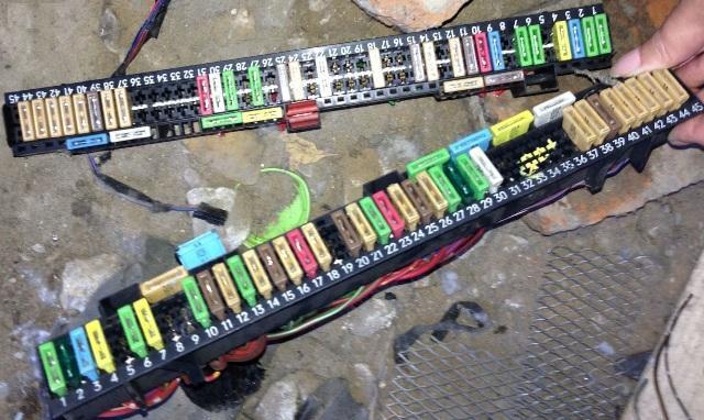 Колодки с предохранителями для БМВ Е39
