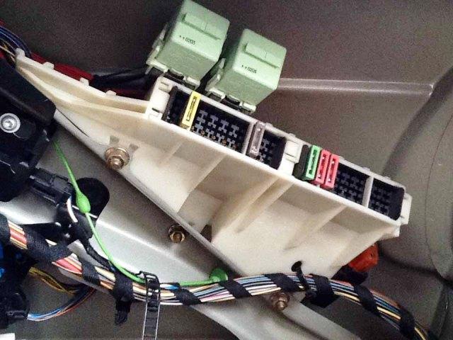 Электропредохранители в багажнике