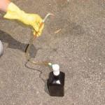 6. Для залива расходного материала используйте шприц с трубкой, насос или обычный садовый опрыскиватель.
