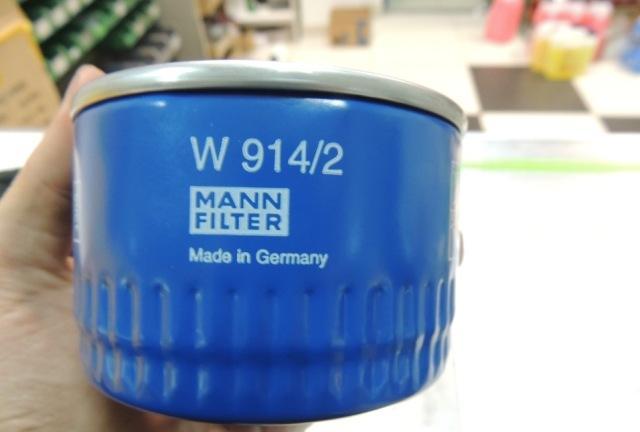 Маслофильтр Mann W914/2
