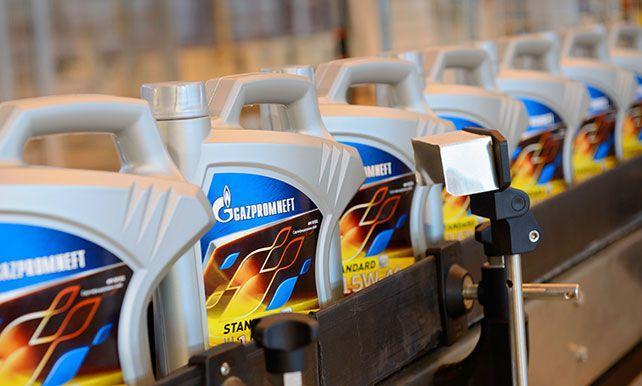Производство смазывающих материалов Газпромнефть
