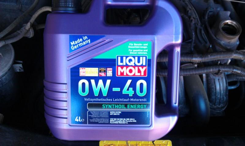 Зимнее масло для двигателя Ликви Моли 0W40