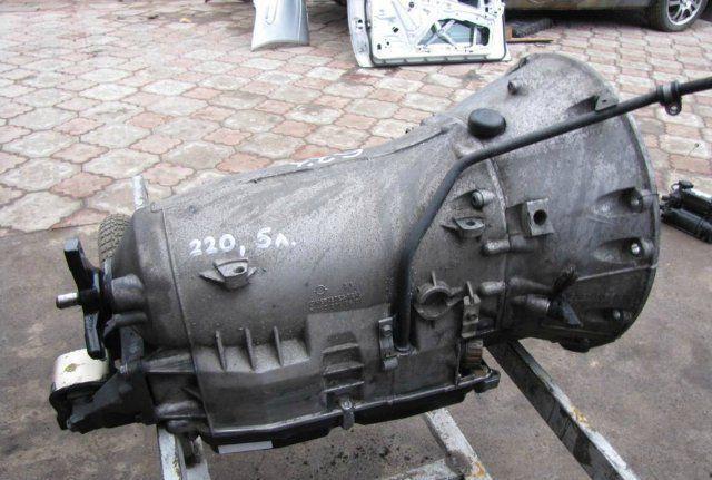 Так выглядит демонтированная с Мерседес Е240 коробка передач