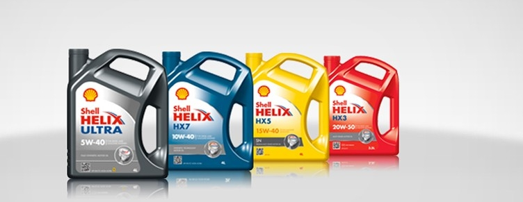 Моторные масла Shell Helix Ultra, HX7, HX5 и HX3