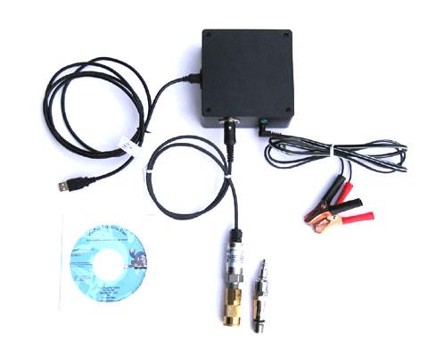 Роторный компрессометр для измерения давления