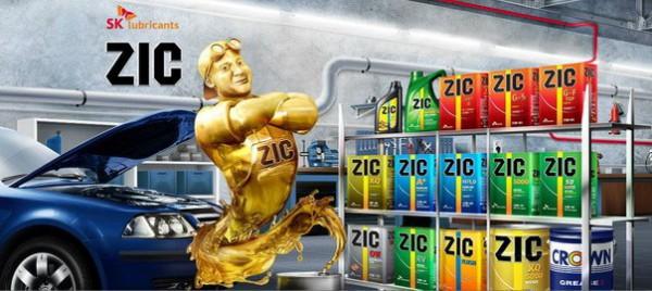 Ассортимент масел Zic
