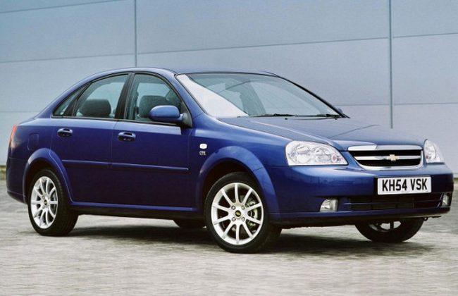 Седан Chevrolet Lacetti, 2004–2012