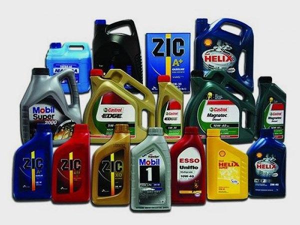 Моторные масла от разных производителей