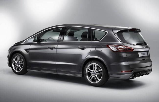 Автомобиль Ford S-max