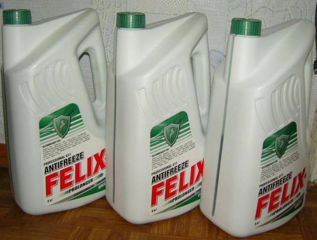 Зеленый антифриз Felix