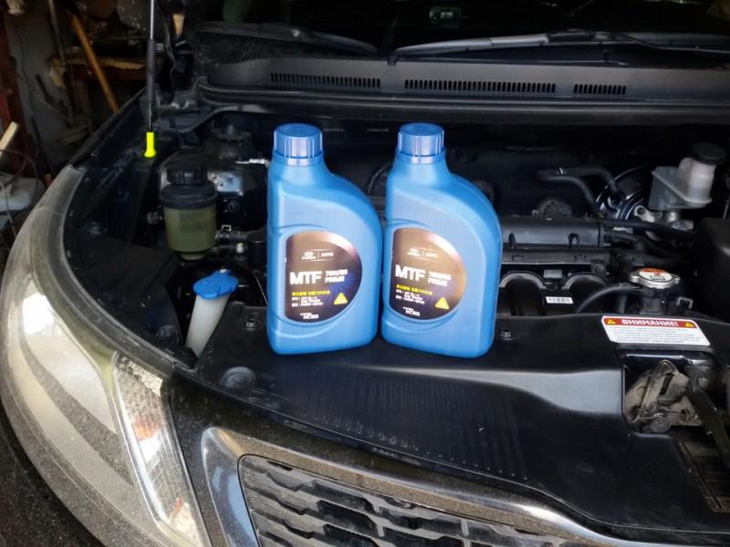 Оригинальное трансмиссионное масло для автомобиля Киа Рио