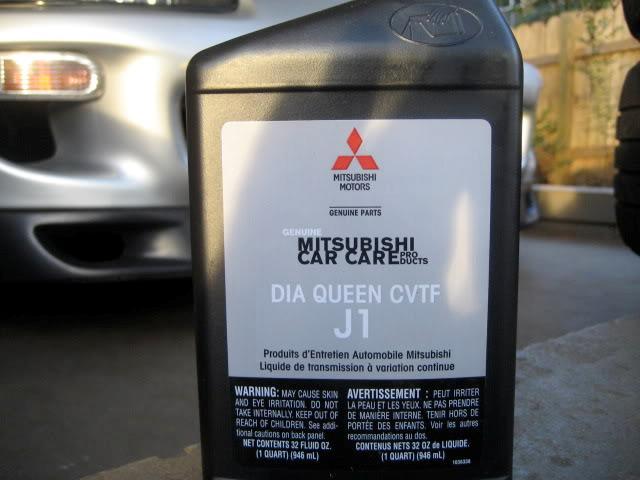 Оригинальная трансмиссионная жидкость для CVT Митсубиси