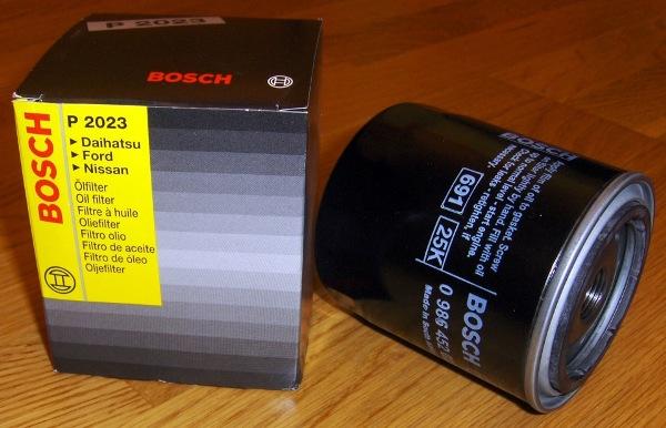 Автомобильный маслофильтр Bosch