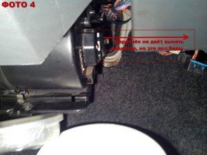 Замена радиатора печки в Таврии