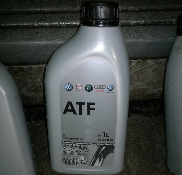 Трансмиссионная смазка ATF для Audi