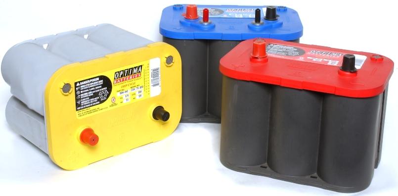 Аккумуляторная батарея для автомобиля бренда Optima