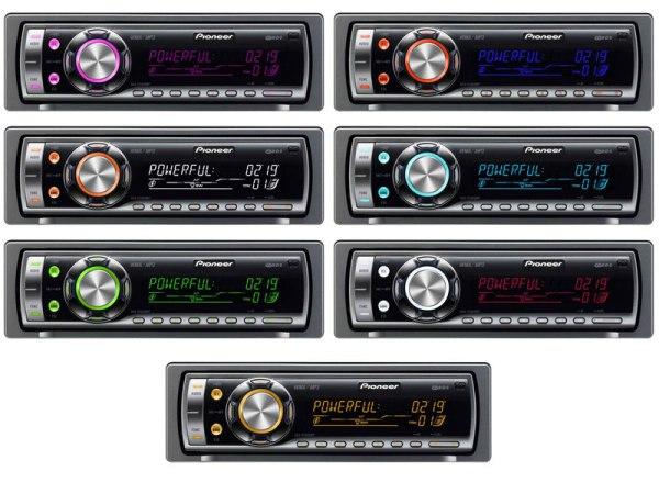 Автомобильные магнитолы Pioneer