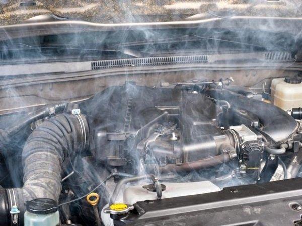 Кипение двигателя