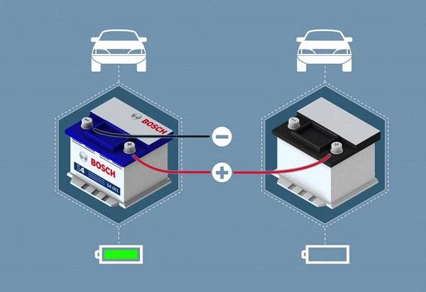 Схема подключения аккумуляторов
