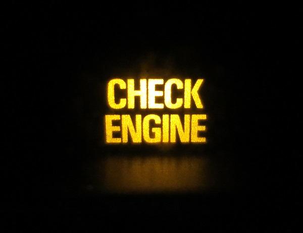 Высвечивается надпись Check Engine