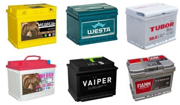 Разнообразие аккумуляторов для авто