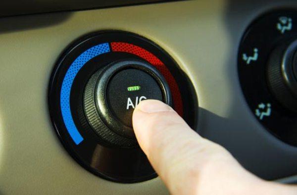 Кнопка включения кондиционера