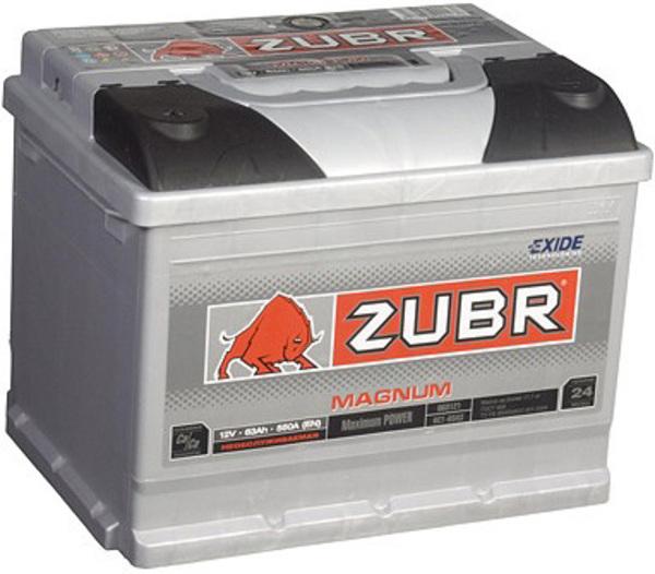 Аккумуляторная батарея белорусского производства Зубр