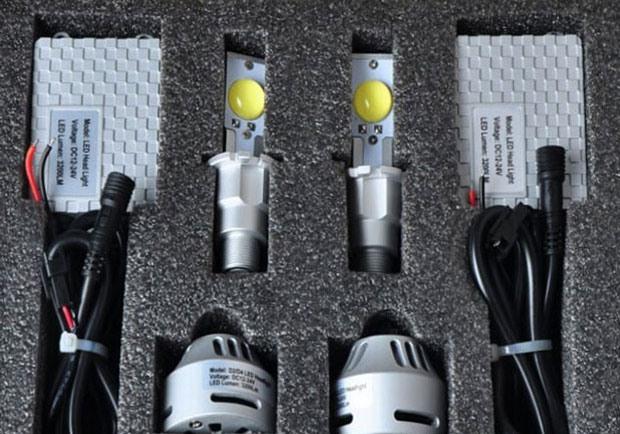 Комплект диодных лампочек для авто