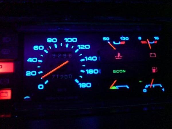 Приборный щиток автомобиля ВАЗ 2109