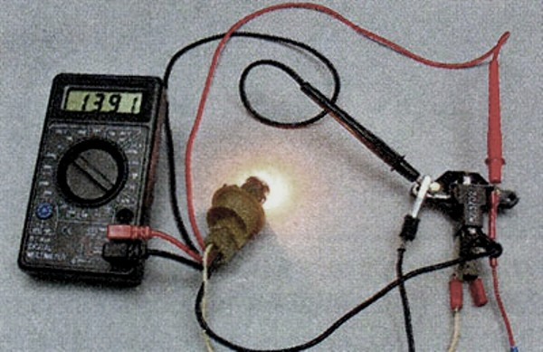 Диагностика вышедшего из строя реле с помощью вольтметра