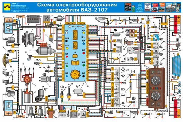 Электросхема классики - карбюратор