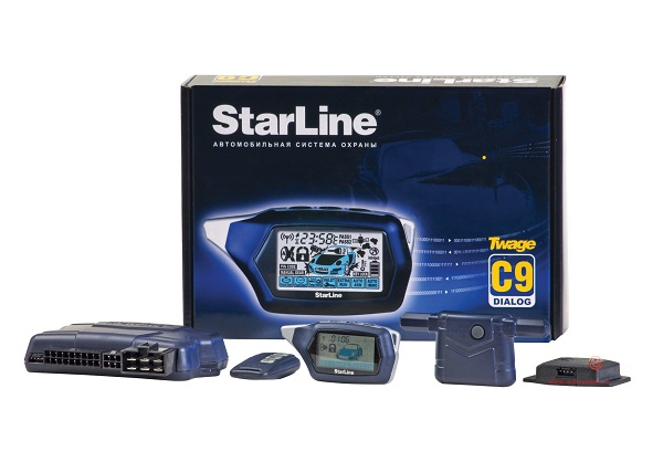 Охранная система Starline с автозапусском