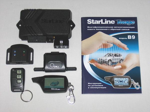 Охранная система Starline