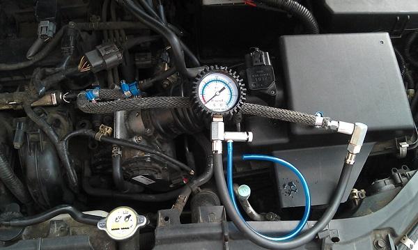 Проверка топливно-эмульсионной системы