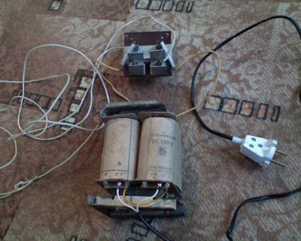 Трансформатор для самодельного ЗУ