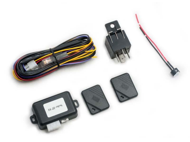 Транспондерный иммобилайзер в разобранном виде