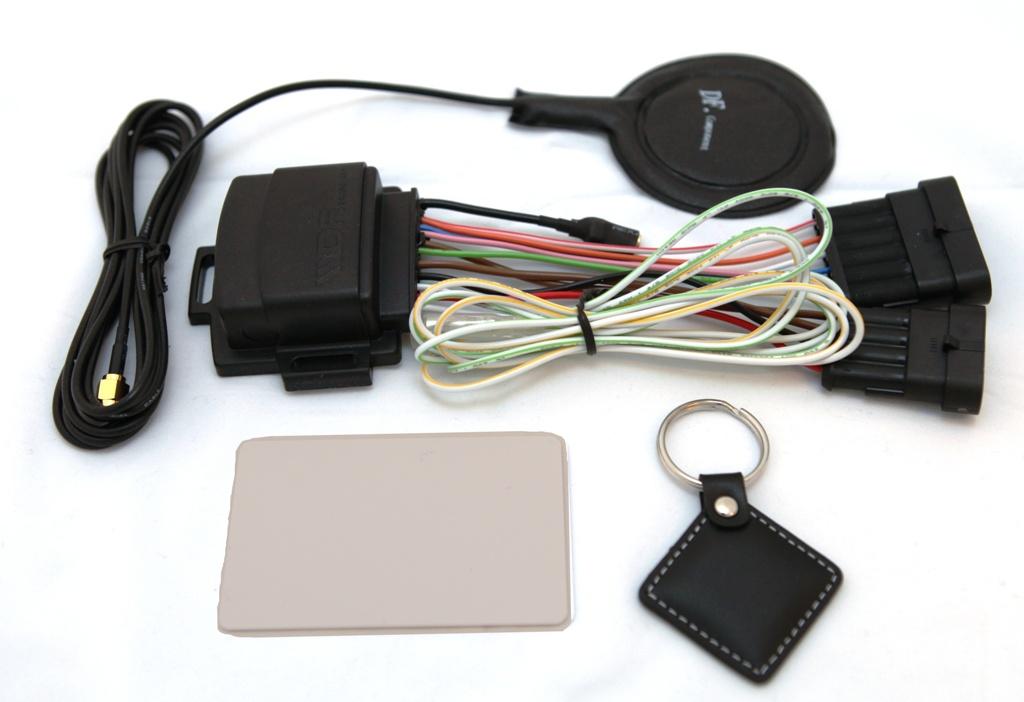 Бесконтактный иммобилайзер для автомобиля