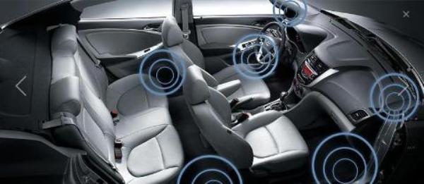 Места для установки динамиков в авто