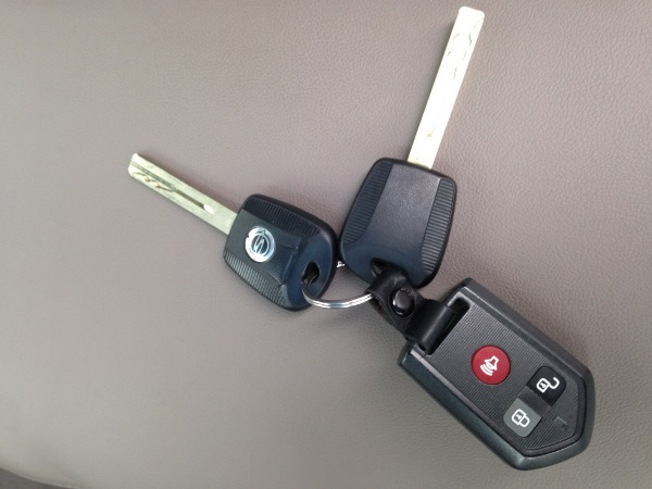 Ключи от иммобилайзера