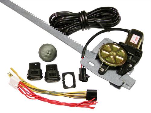 Электрический подъемник в разобранном виде