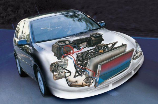 Система кондиционирования автомобиля