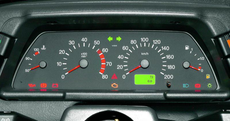 Контрольный щиток приборов автомобиля ВАЗ 2110