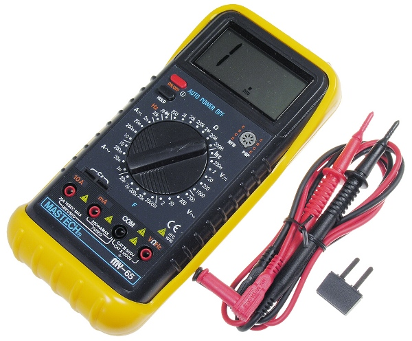 Тестер, предназначенный для прозвонки электроцепи