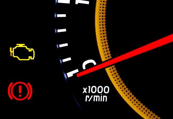 Индикаторы Check и стояночного тормоза