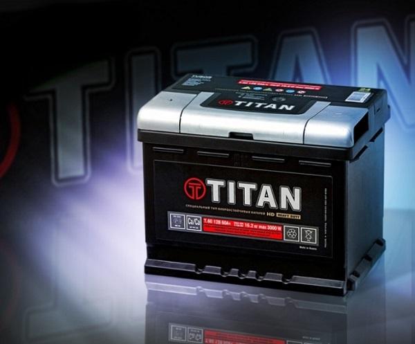 Аккумуляторная батарея Titan