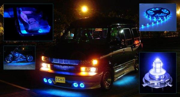 Диодные лампы на авто
