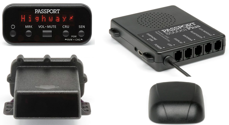 Комплект для скрытой установки антирадара-детектора