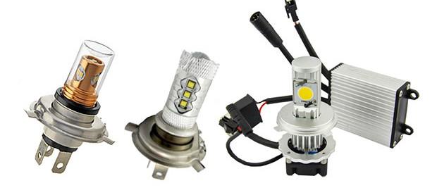 Светодиодные лампочки для автомобильных фар